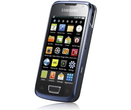 Samsung i8520: Android 2.1, Super AMOLED y pico proyector incorporado