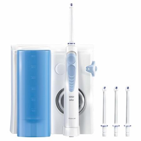 Oferta en el irrigador dental Oral-B Waterjet con cuatro cabezales: ahora puede ser nuestro por 39,99 euros con envío gratis en Amazon