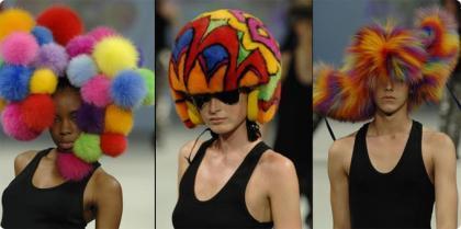 Soren Bach y sus sombreros de locura