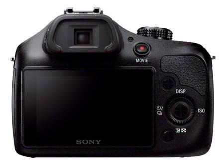 Sony A3000 parte trasera