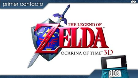 'The Legend of Zelda: Ocarina of Time 3D'. Primer contacto