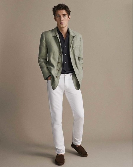 Massimo Dutti Linen Collection Hombre Spring Summer 2019 4