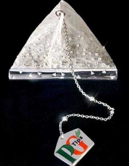 Bolsa de té con diamantes para el 75º aniversario de PG Tips