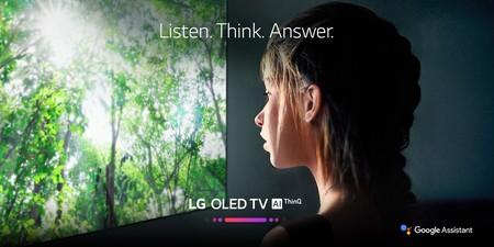 Google Assistant llega a los televisores de LG con ThinQ AI