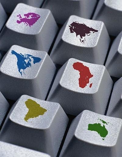 teclado geopolítico