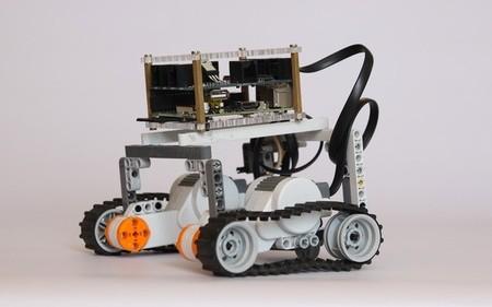 Un Rover Con el BrickPi y la Raspberry Pi