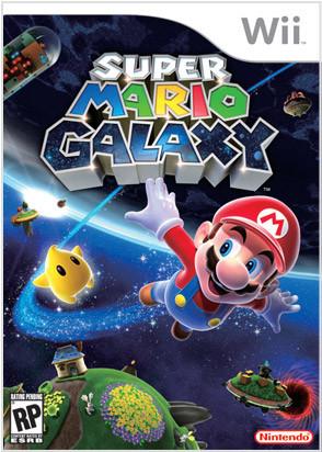 Portada definitiva de 'Super Mario Galaxy'
