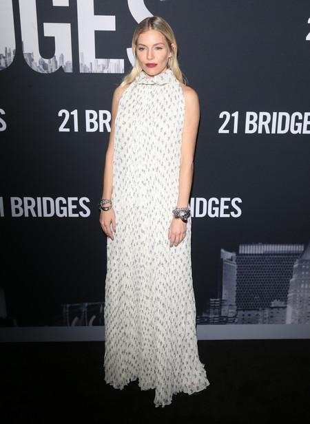 vestido blanco lowcost sienna miller