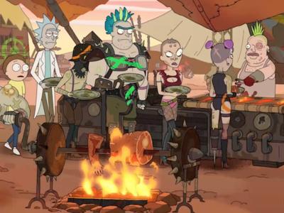 'Rick & Morty' vuelven en julio con su temporada 3 y tenemos tráiler con guiños a Mad Max y un Rick Pepinillo