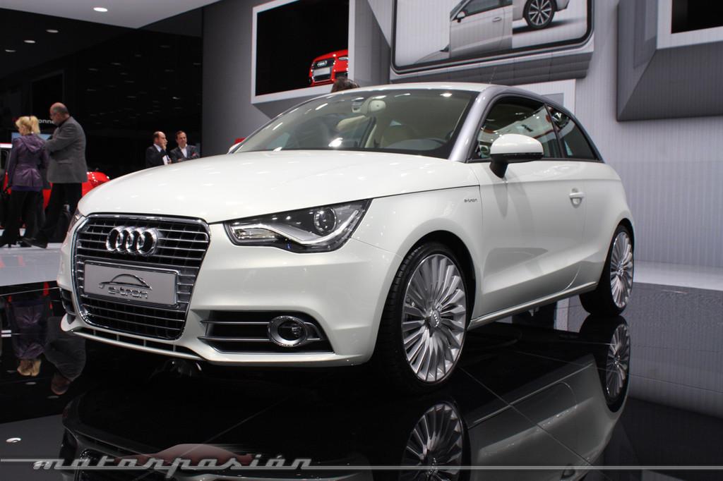 Foto de Audi A1 y A8 híbridos en el Salón de Ginebra (12/18)