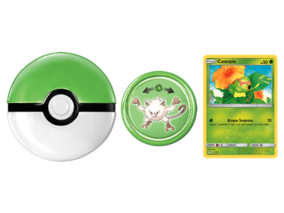 Caterpie Mankey Tazo Carta Cajita Feliz Mcdonalds Mexico