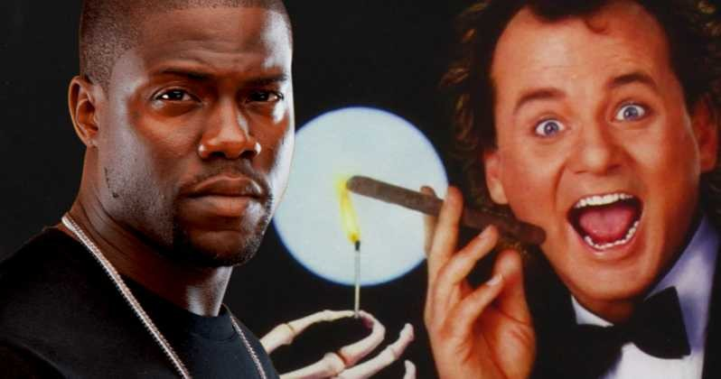 'The ghosts attack the boss' will have a remake produced by and starring Kevin Hart