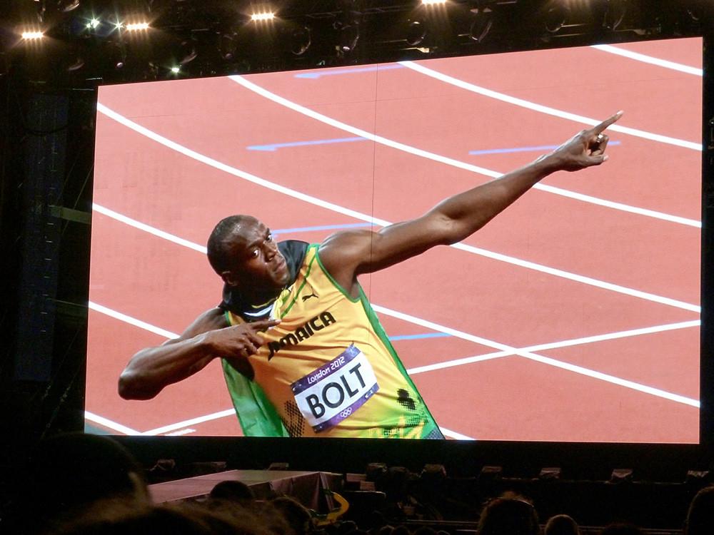 Cómo se hizo la foto de Usain Bolt en los Juegos Olímpicos de Río que está dando la vuelta al mundo