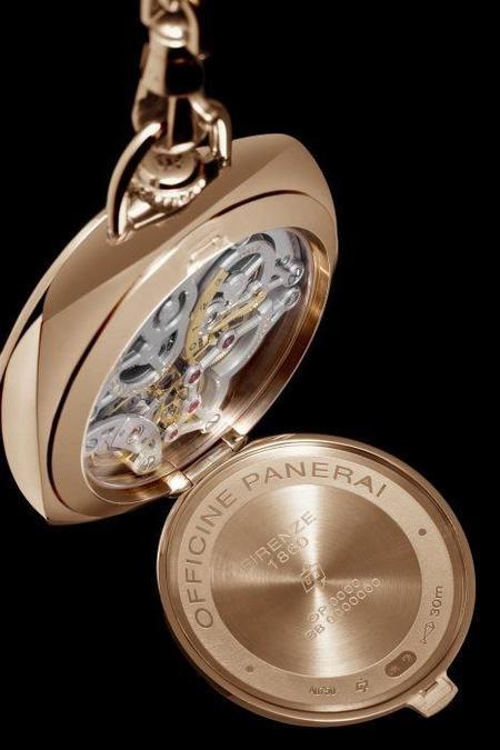 Nuevos relojes de bolsillo Pocket Watch 3 Days de Panerai, caballero de fina estampa