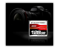 Silicon Power anuncia la primera Compact Flash de 128GB y 400X