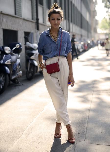 lovely pepa camisa blanca