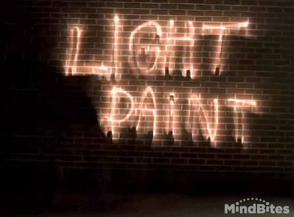 Vídeo: Dibujando con la luz. Light-painting