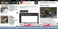 Motorpasión Moto móvil, para participar y facilitar la navegación