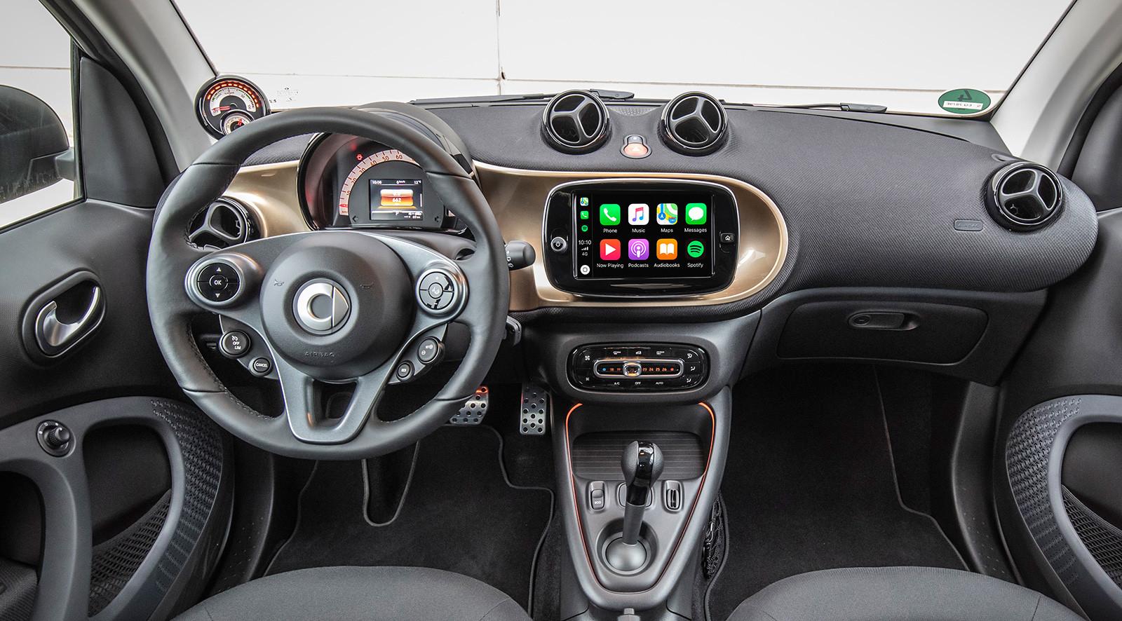 smart EQ fortwo y EQ fortwo cabrio 2020