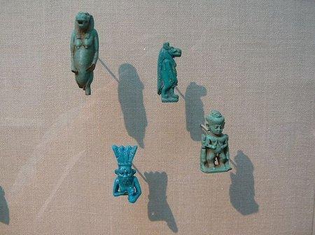 Amuletos egipcios parto