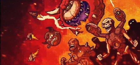 MiniDoom 2 reimagina el clásico Doom 2 como un juego de acción y plataformas en 2D y se puede descargar gratis