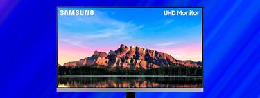 """El estilizado monitor Samsung U28R552 4K HDR10 de 28"""" está rebajado a su precio mínimo histórico en Amazon de 279 euros"""