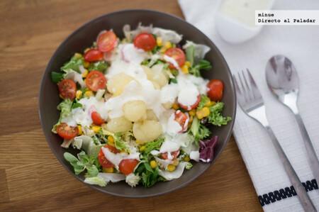 Ensalada italiana de melón, receta de verano fácil y rápida