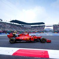 Sebastian Vettel bate por una décima a Max Verstappen en el primer día de pruebas en México