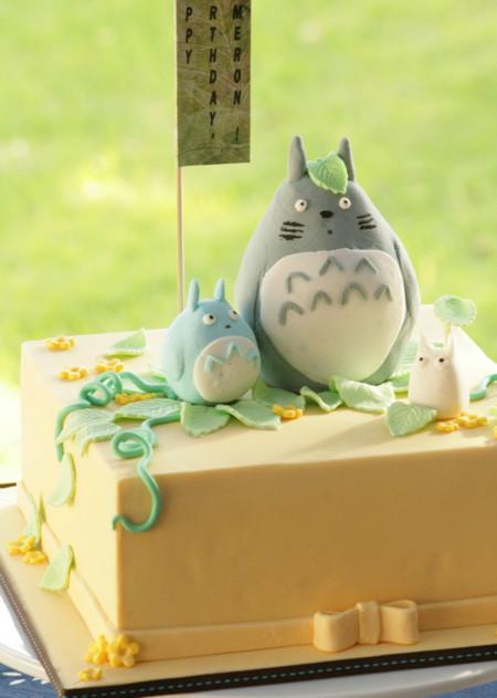 Totoros en tonos pastel