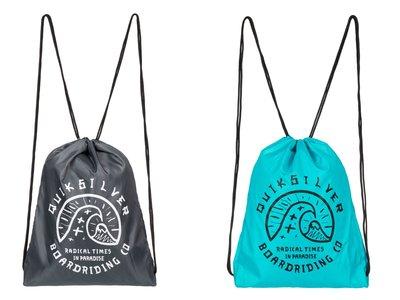 En eBay tenemos la mochila de tipo saco Quiksilver Acai por 8,95 euros con envío gratis