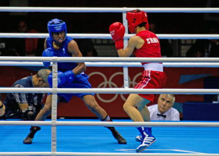 Nicola Adams V Cancan Ren London 2012 8374473182