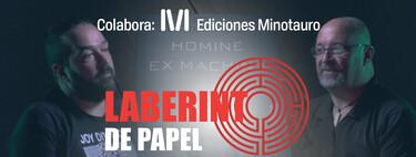 Destripamos con el escritor Carlos Sisí los secretos de su éxito y de su último libro, 'Homine Ex Machina' (Laberinto de Papel 2x06)