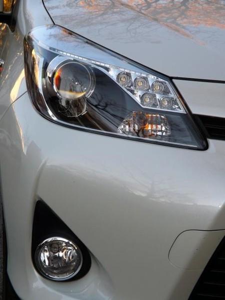 Prueba Toyota Yaris hybrid, óptica frontal