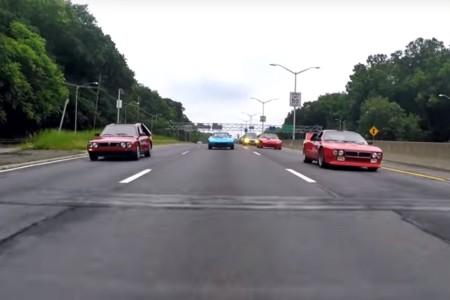 Este convoy de ensueño te hará mirar con otros ojos los viajes por autopista
