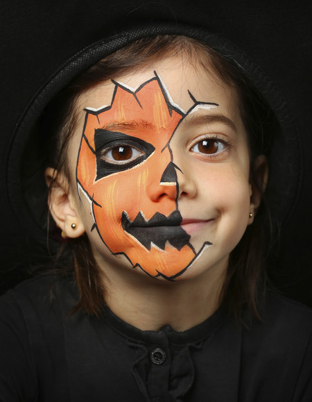Siete ideas de maquillaje infantil para Halloween