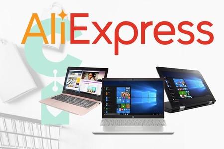 8 modelos de portátiles a buenos precios en AliExpress Plaza