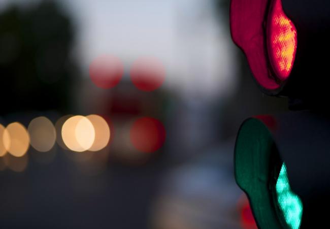 La estadística convence a Chicago, que dejará pasar semáforos en rojo 0,3 s (y no 0,1 s) después