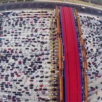 China y su atasco más épico hasta la fecha, de más de 100 kilómetros