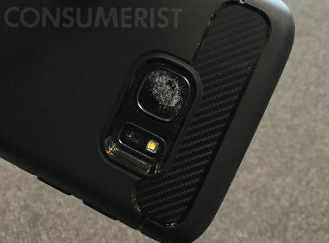 Dueños del Galaxy S7 alegan daño en el cristal de la cámara sin razón aparente