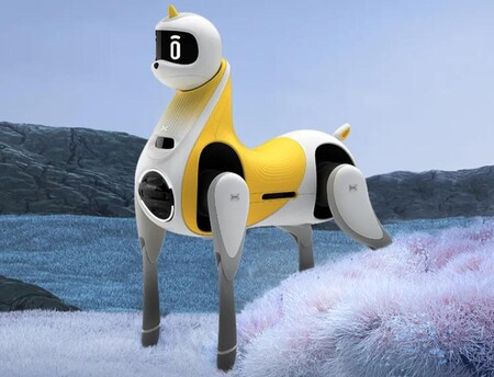 Un robot pony autónomo para que los niños interactúen y se monten sobre él: así es Little White Dragon