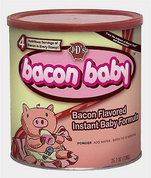 Leche para bebés al beicon