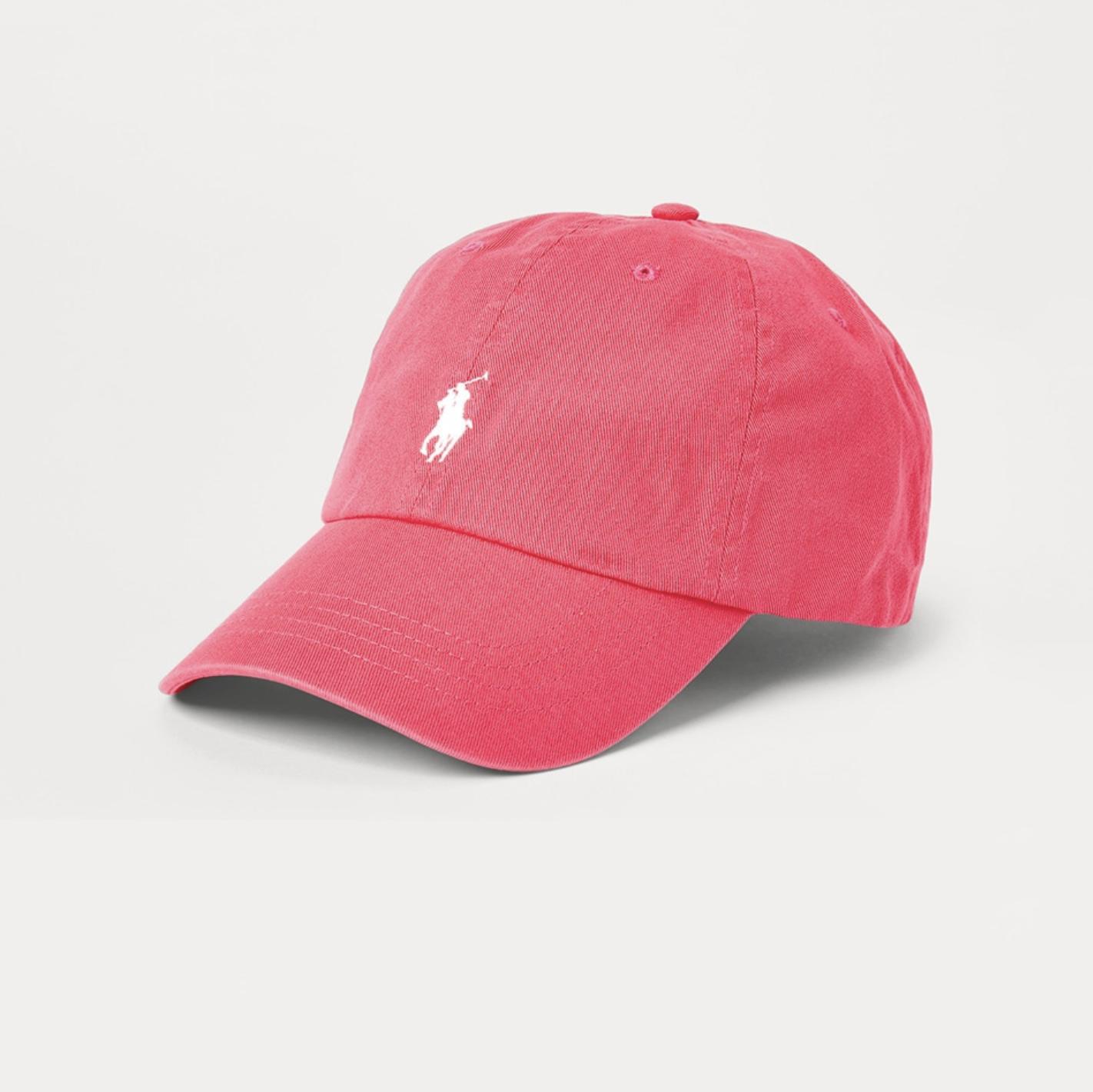 Gorra de Polo Ralph Lauren en color frambuesa
