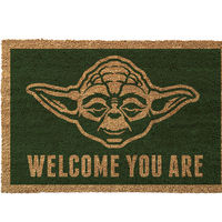 "Felpudo Star Wars ""Yoda: Welcome You Are"" a su precio más bajo en Amazon: 13,93 euros"