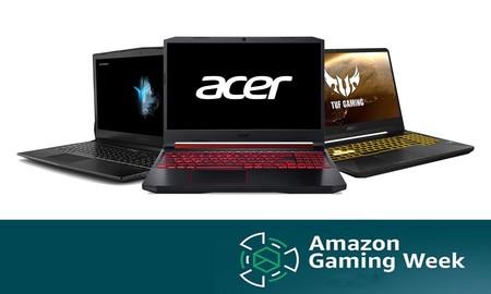 Amazon Gaming Week: las ofertas más interesantes en portátiles para jugar, para acertar con ese regalo de última hora