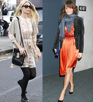 Madres, modelos y estilosas: ¿Claudia Schiffer o Helena Christensen?