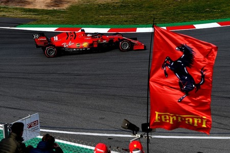 Leclerc Ferrari F1 2020