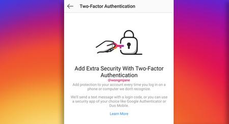Instagram abandonará los SMS como vía única para ofrecer más seguridad en su verificación en dos pasos