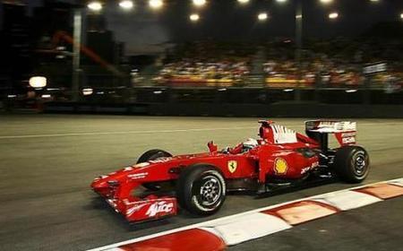 Ferrari pasa por Singapur sin pena ni gloria