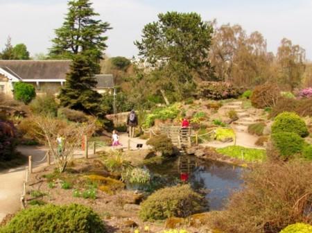 Jardín Botánico Edimburgo con niños