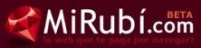 MiRubí, página de inicio de servicios favoritos en español